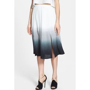 June & Hudson Ombré Skirt